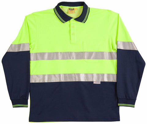 3M Tapes Safety Polo - SW21A - J&M Workwear  - 2