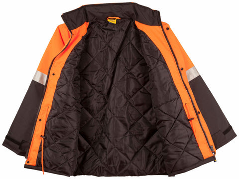 2 Tone Rain Proof Jacket with Quilt Lining - SW28A - J&M Workwear  - 3