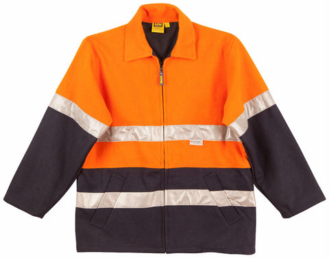 2 Tone Bluey Jacket - SW31A - J&M Workwear  - 1