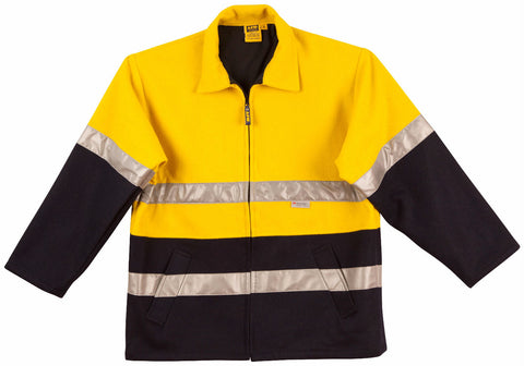 2 Tone Bluey Jacket - SW31A - J&M Workwear  - 2