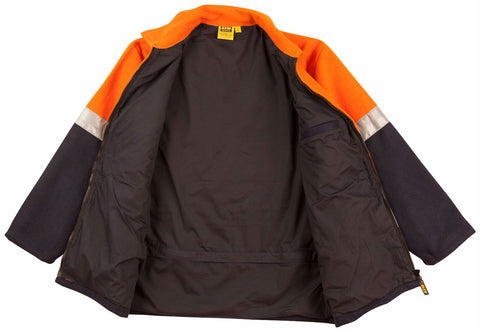 2 Tone Bluey Jacket - SW31A - J&M Workwear  - 3
