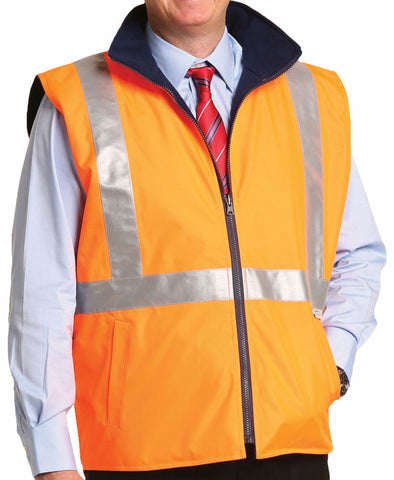 Safety Vest - SW37 - J&M Workwear
