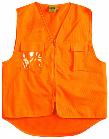 Safety Vest with ID Pocket - SW41 - J&M Workwear  - 1