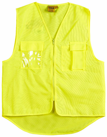 Safety Vest with ID Pocket - SW41 - J&M Workwear  - 2