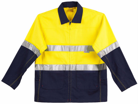 Cotton Jacket with 3M Tapes - SW46 - J&M Workwear  - 2