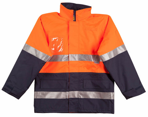 Long Line Jacket Polar with Fleece Lining - SW50 - J&M Workwear  - 1