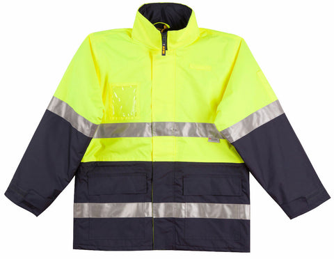 Long Line Jacket Polar with Fleece Lining - SW50 - J&M Workwear  - 2