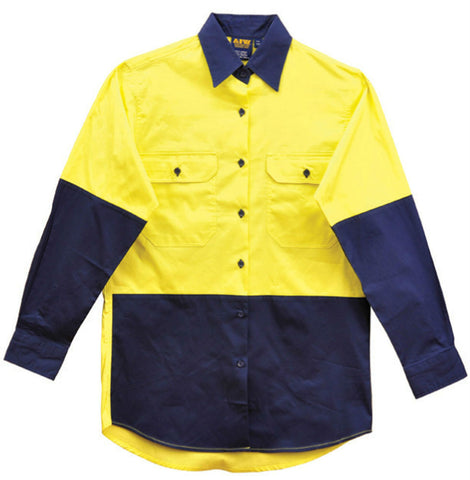 Long Sleeve Safety Shirt - SW64 - J&M Workwear  - 2