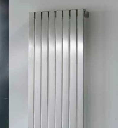 Brushed Stainless Steel Radiator