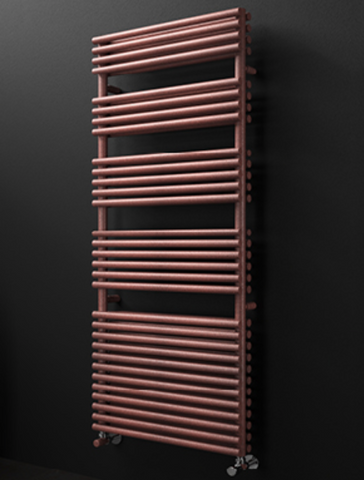 Turin Round High Output Towel Rail