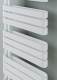 The Radiator Company Echo Towel Rail White