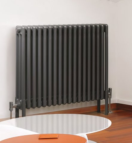 .Milan (Horizontal) Anthracite - 4 column - (H)600mm