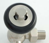 Olde Corner Thermostatic Radiator Valve - Satin Nickel TRV
