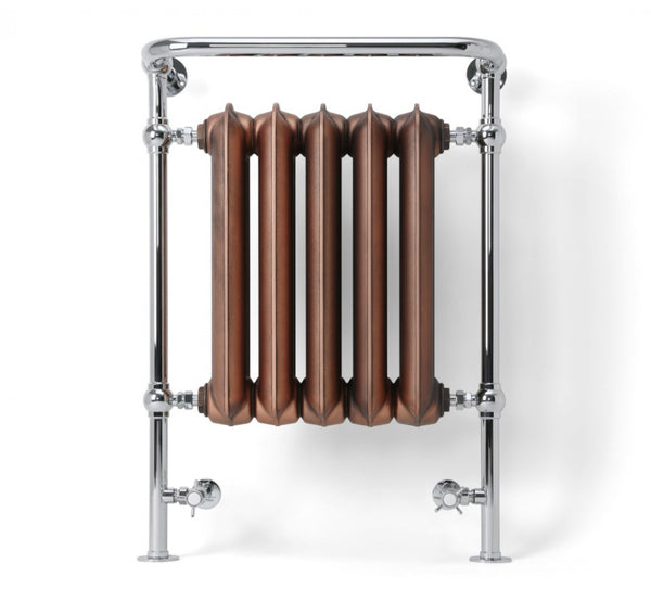 Terma Plain Towel Rail (Copper/Brass/Polished) (Made to Order)