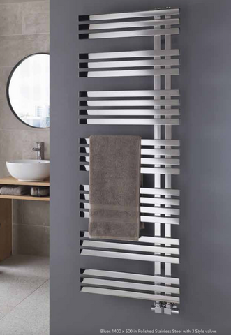 The Radiator Company Blues Towel Rail