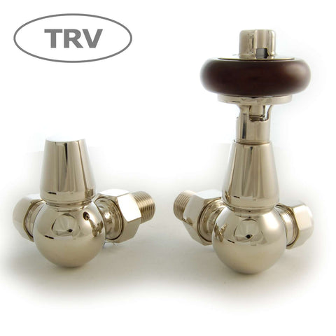 Olde Corner Thermostatic Radiator Valve - Nickel TRV