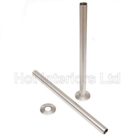 Satin Nickel Sleeving Kit 300mm (pair)