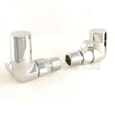 Modern Chrome Corner Manual Valves