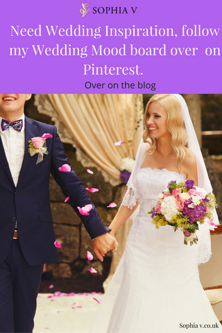 Inspiration for your wedding, Pinterest mood board