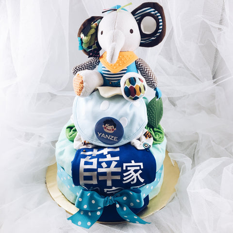 Customised Diaper Cakes