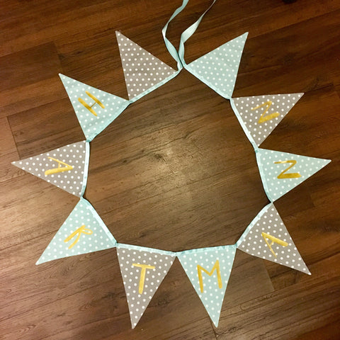 CUSTOMISED BUNTING