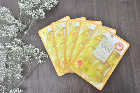 Coenzyme Q10 - Korean 3D Essence Facial Mask