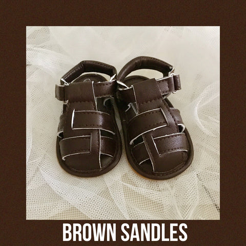 Shoes - Sandals (Brown)