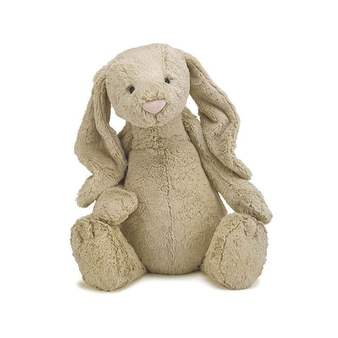 Soft Toy - Huge Brown Furry Bunny