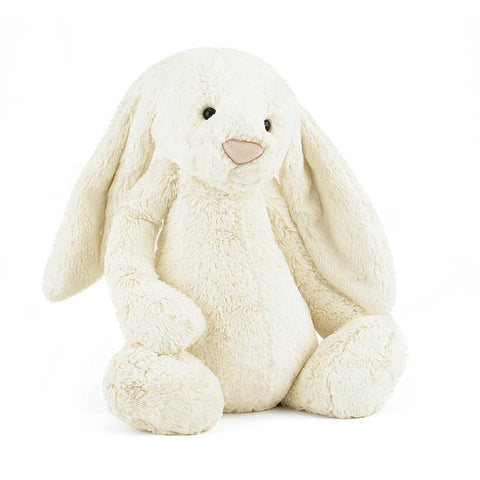 Soft Toy - Huge White Furry Bunny