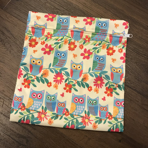 Wet Bag - Owl Family (Small)