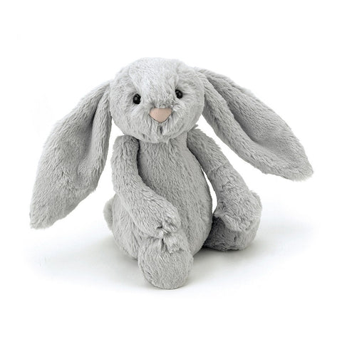Soft Toy - Small Grey Furry Bunny