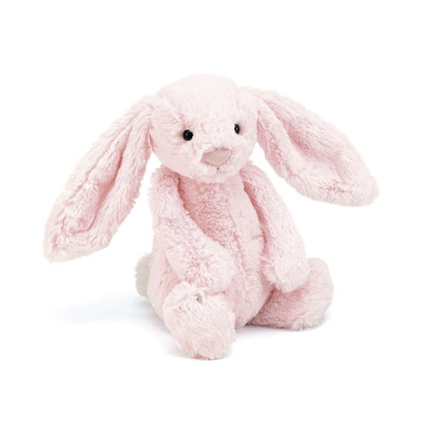 Soft Toy - Small Pink Furry Bunny