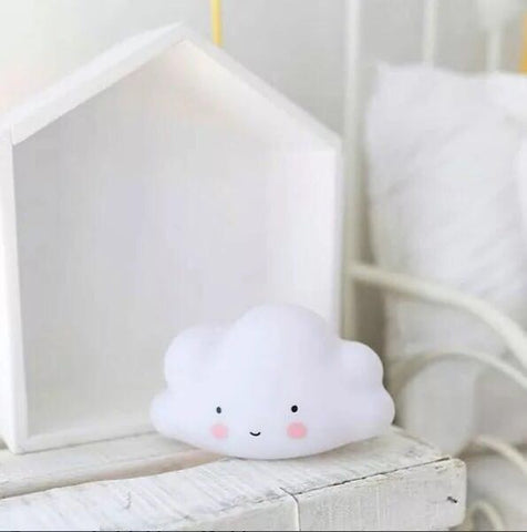 Night Light - Cloudy White Cloud