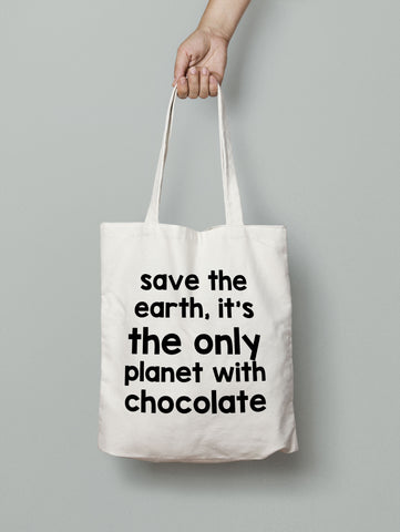 Tote Bag - Planet Chocolate