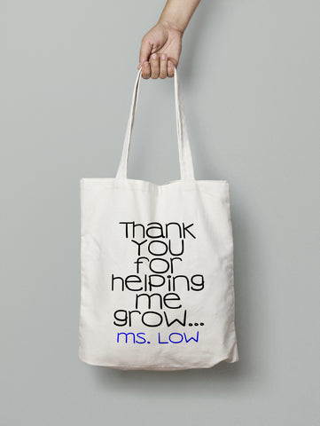 Tote Bag - Helping Me Grow