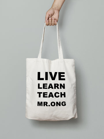 Tote Bag - LIVE LEARN TEACH