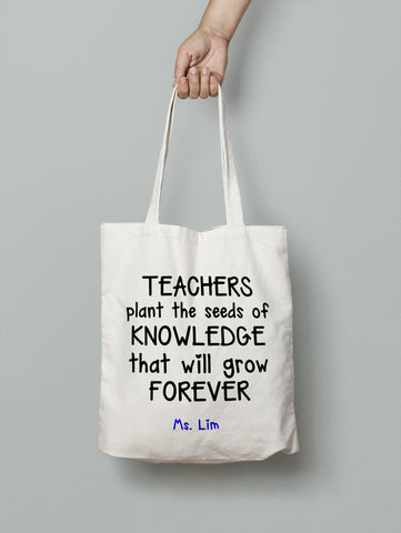 Tote Bag - Seeds of Knowledge