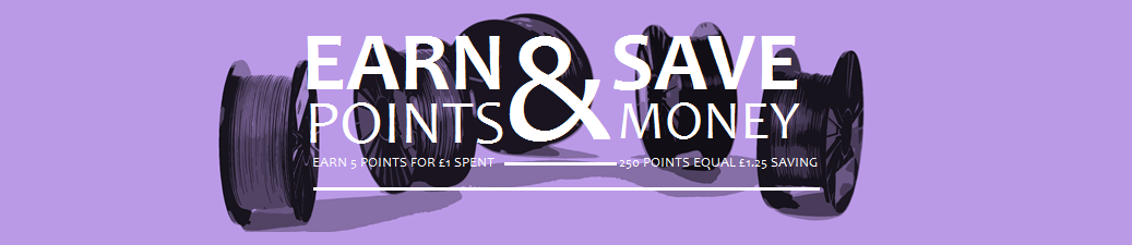 EARN POINTS & SAVE MONEY