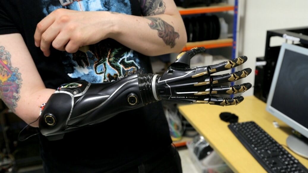 3D Printed Bionic Arm