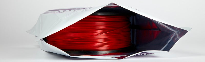 Metallic Bag to Keep 3D Printing Filament Dry
