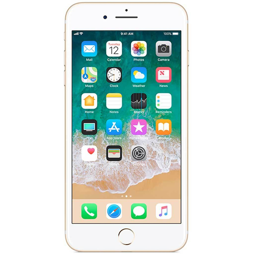 iPhone 7 | SIM-Free Smartphone | Gold 128 GB (Renewed)