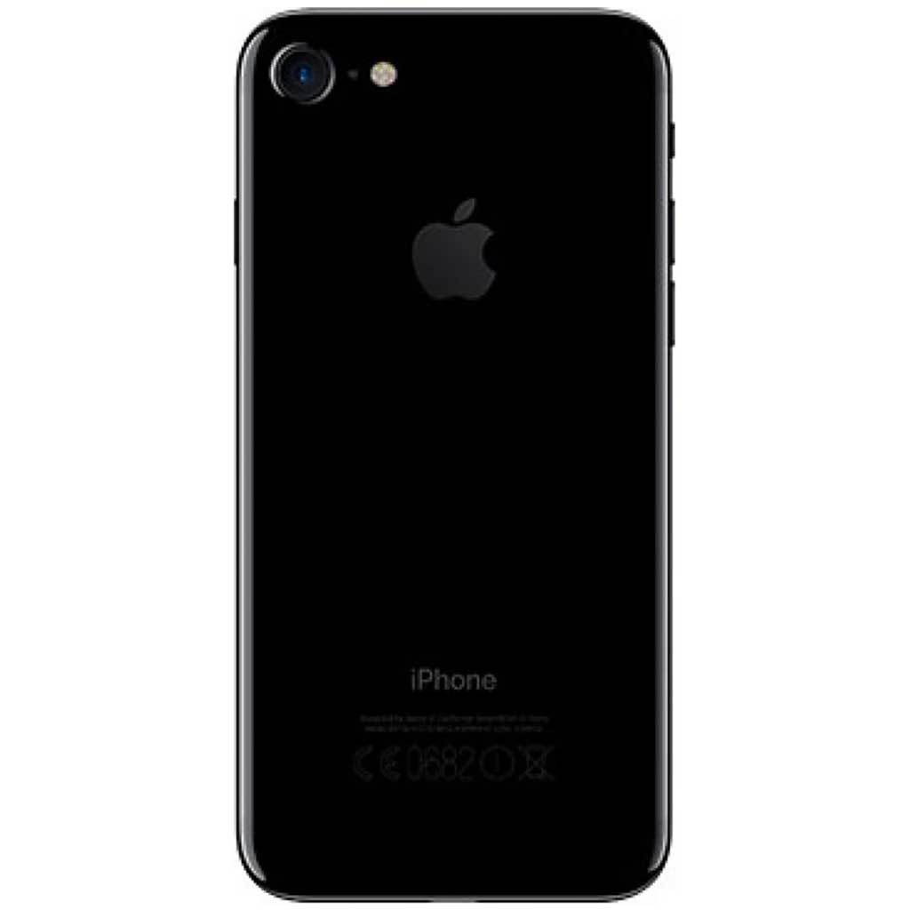 iPhone 7 | SIM-Free Smartphone | Jet Black 32GB (Renewed)