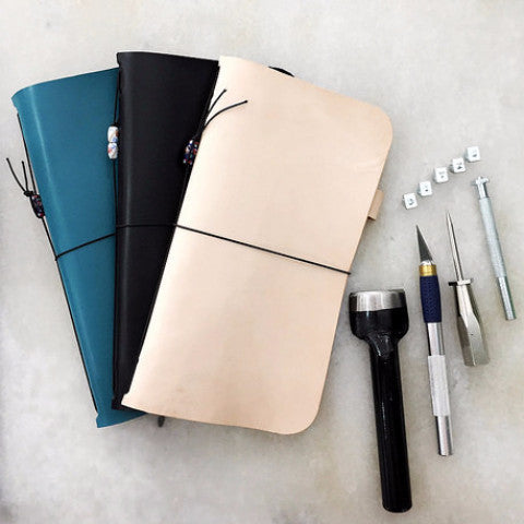 diykl fauxdori travelers notebook workshop
