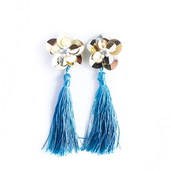 DAHLIA Hypoallergenic Tassel Earrings