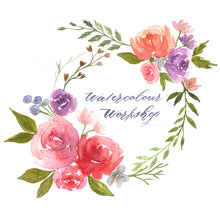 23 Nov 2019: Basic Watercolour Floral Wreath Workshop