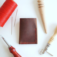 diykl bifold wallet and keychain workshop