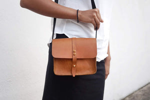 diykl mini leather bag leathercraft workshop