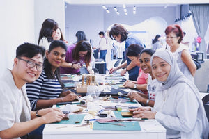 diykl leather craft workshop