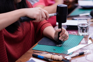 diykl Leather Traveler's Notebook Workshop