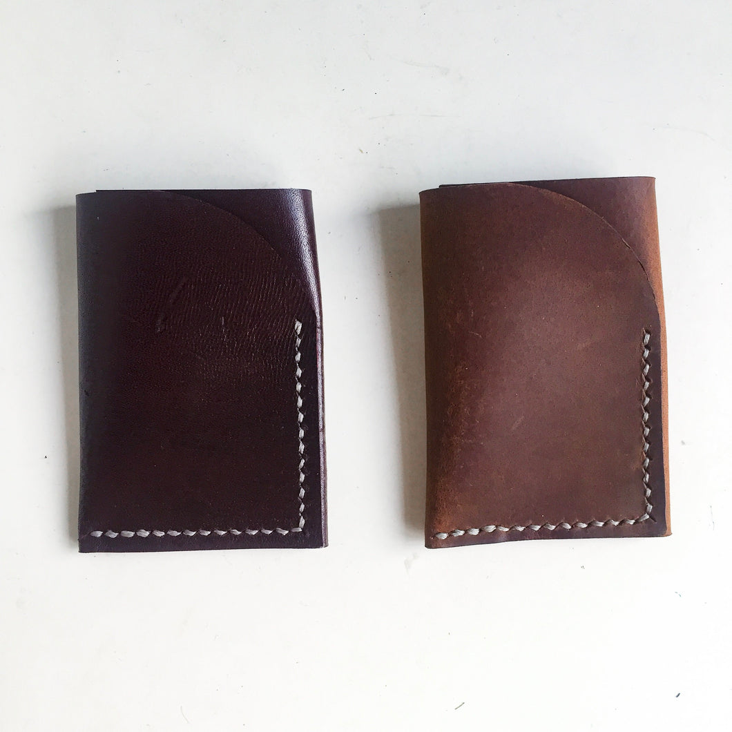 Leather Bifold Cardholder